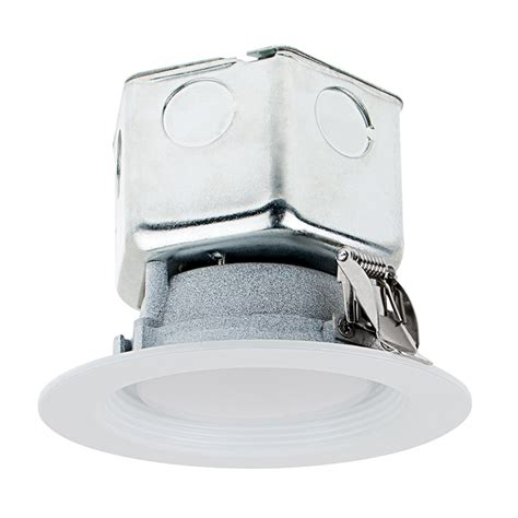 led lights that fit in junction box 4 quot recessed led downlight w built in junction box and