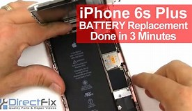 Image result for Apple iPhone 6S Battery Replacement. Size: 276 x 160. Source: www.youtube.com