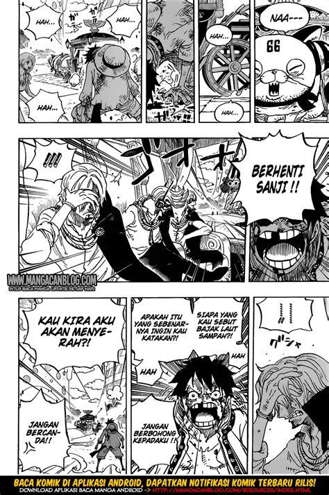 Komik Luffy one 844 indonesia terbaru baca komik indonesia