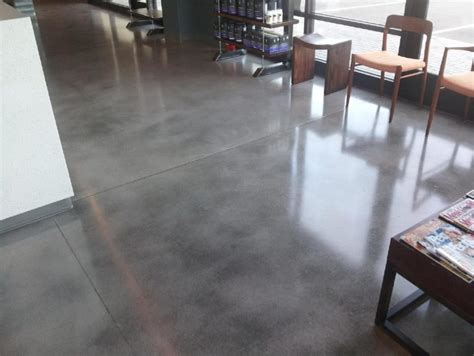 stained concrete floors that look like barn wood to get