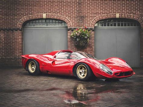 Vintage Ferraris Photos A Near P4 Replica Business Insider