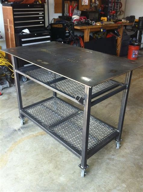 plan fabrication table welding table on welding projects welding and