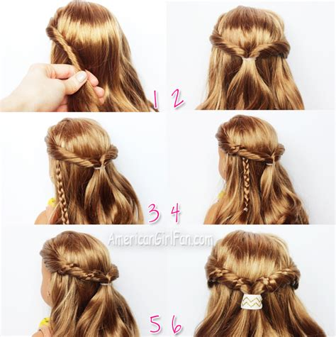 Doll Hairstyles Easy by Easy Half Up Twist Hairstyle With Braids For American