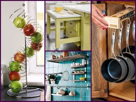ideas for kitchen storage in small kitchen 50 small kitchen storage ideas