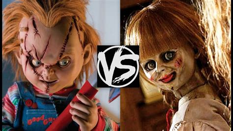 annabelle doll vs chucky chucky vs annabelle which is the scariest a child s