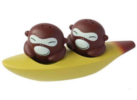 Toothpick Holders by Alessi Banana Brothers Salt And Pepper Shakers