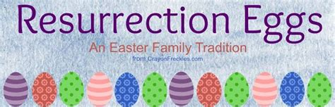 crayon freckles resurrection eggs the easter story for 403 best easter crafts snacks and activities images on
