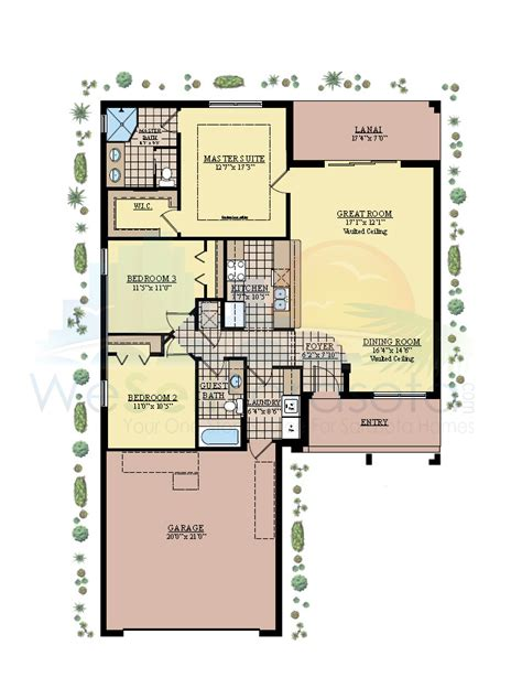 medallion homes aruba floor plan