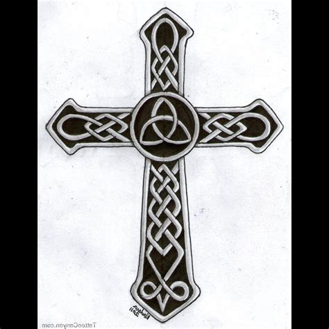 irish cross tattoo celtic cross designs for cool tattoos bonbaden
