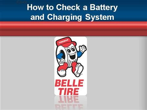 Check Or Charge by How To Check A Battery Charging System Authorstream