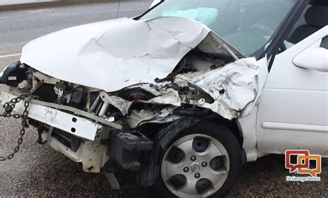 st george emergency room distracted driving results in 3 vehicle crash on river road st george news