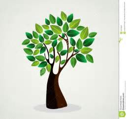 cute concept tree design stock vector image of leaf 32018588