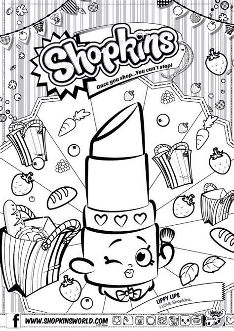printable shopkins images shopkins colour color page lippy lips shopkinsworld i