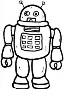 color robot outer space coloring pages for az coloring pages