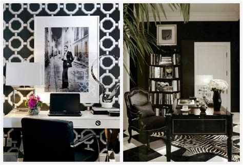 black and white home office decorating ideas decorating with black and white ideas for every room