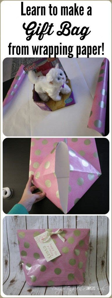 How To Make A Gift Bag With Wrapping Paper - gift bags picmia