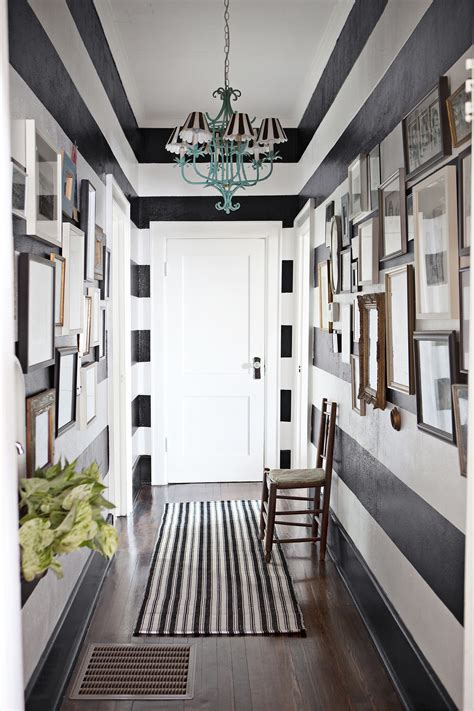 how to decorate a narrow hallway popsugar home