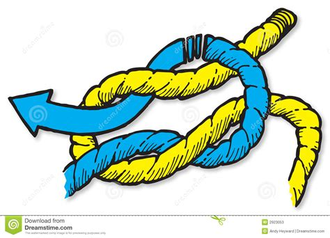 Redknot Manacle reef knot stock photos image 2923053