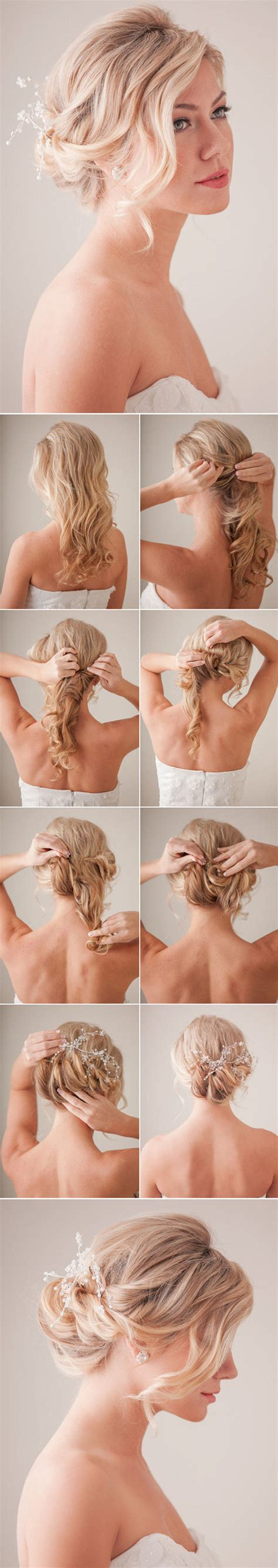 Bridal Updo Hairstyles Tutorials by 10 Best Diy Wedding Hairstyles With Tutorials Oh Best
