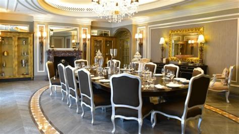 Dining Rooms Dubai by The Imperial Suite At The St Regis Dubai Is An Impressive