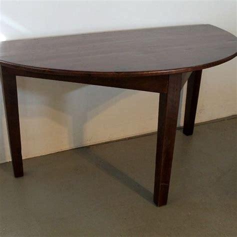 Half Circle Dining Table Custom Made Small Half Circle Dining Table By Ecustomfinishes Reclaimed Wood Furniture