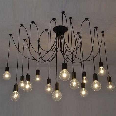 black swag chandelier 14 swag chandelier black modern lighting industrial