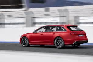 new 2014 audi rs6 avant sport wagon photos and details