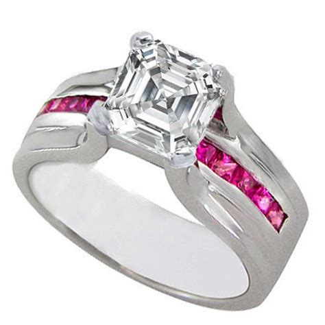 engagement ring pink sapphire engagement rings 67