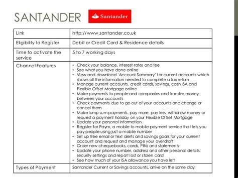 reset online banking details santander world of digital banking v3 author muthu