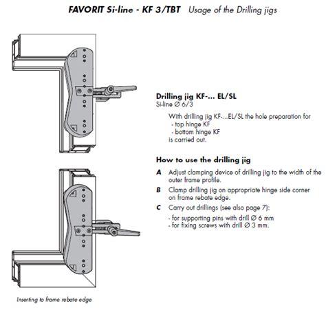 tilt and turn patio door repairs si siegenia tilt and turn frame jig ebay
