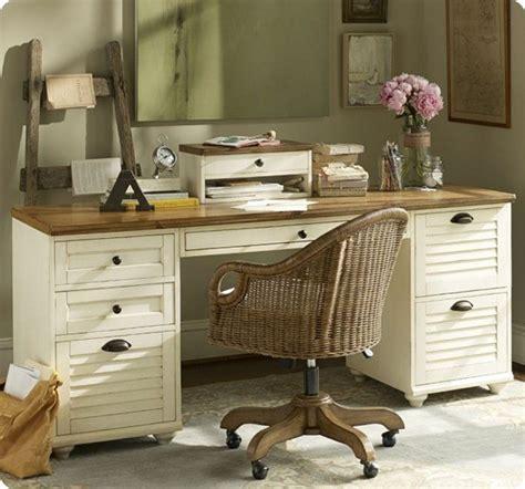 White Desk With Wood Top White Desk With Wood Top