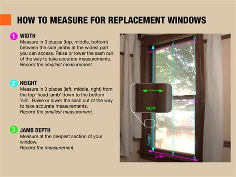 How To Measure For Replacement Windows Replacement Windows Pinter