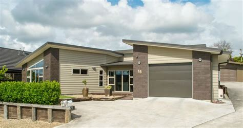 modern 3 bedroom home aj homes builders morrinsville