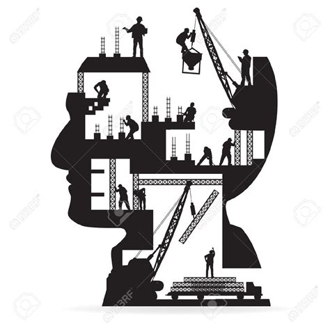 art design renovation contractor architecture clipart construction manager pencil and in