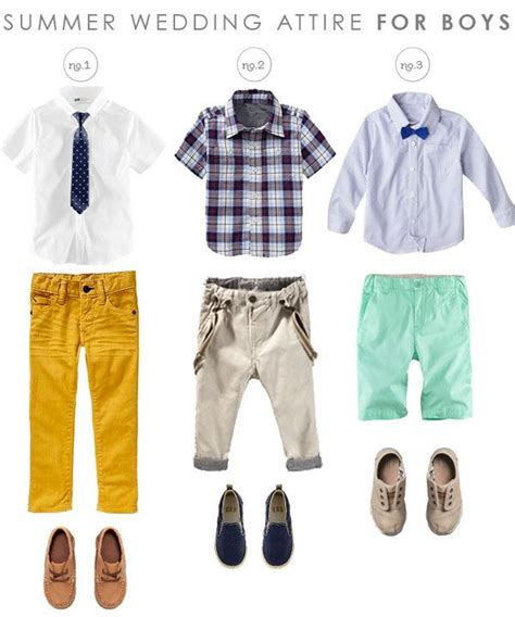 Wedding Attire For Toddlers by 70 Best Fashion Boys Summer Images On