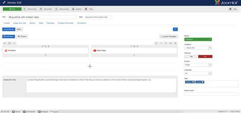 layout builder joomla azura responsive joomla page builder cththemes