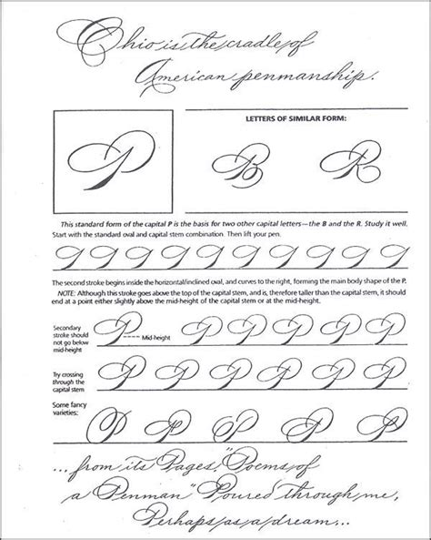 Spencerian Penmanship Worksheets by Learning To Write Spencerian Script Additional Photo