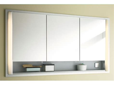 lighted bathroom mirror cabinet duravit illuminated bathroom mirrors cabinets designcurial