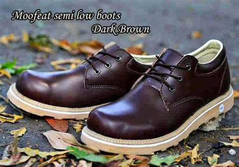 Moofeat Brown Original mods shop moofeat semi low boots