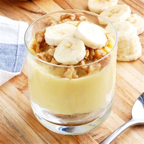 guilt free banana pudding no dairy or gluten paleo grubs