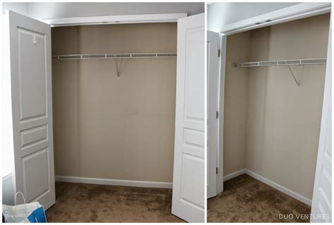 duo ventures guest bedroom closet organizer install