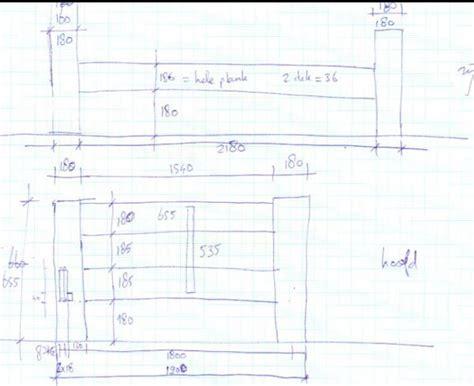 bouwtekening bed bouwtekening bed hout