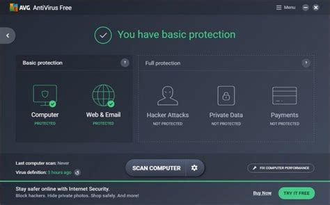 avg free antivirus avg antivirus free 2017 review rating pcmag com