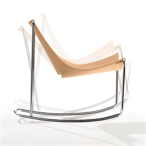 sedia a dondolo moderna sedia a dondolo moderna apelle dn arredas 236