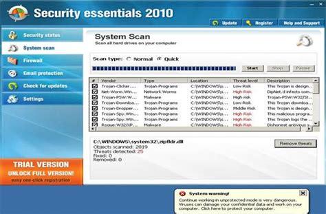 securityessentials2010 c 243 mo eliminar virus
