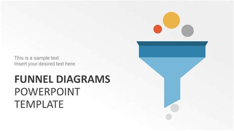 Marketing Funnel Diagrams Powerpoint Template Slidemodel Funnel Diagram Powerpoint Template