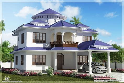 house and homes beautiful dream home design in 2800 sq feet kerala home
