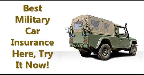 Best Car Insurance For Military Officers With Lower