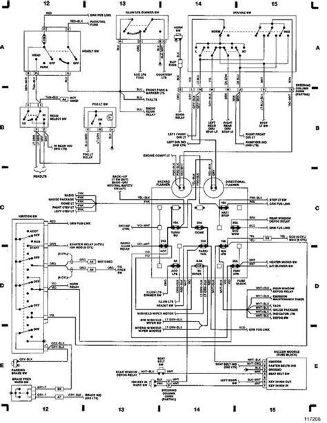 jeep yj wiring diagram  jeep yj wiring diagram httpwwwjeepkingscaforumsshowthread
