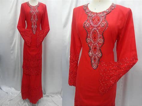 butik hnz koleksi baju kurung moden mewah leher pulak fesyen baju kurung moden terkini baju jubah